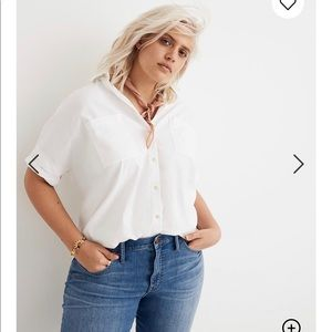 NWT Madewell Courier Shirt